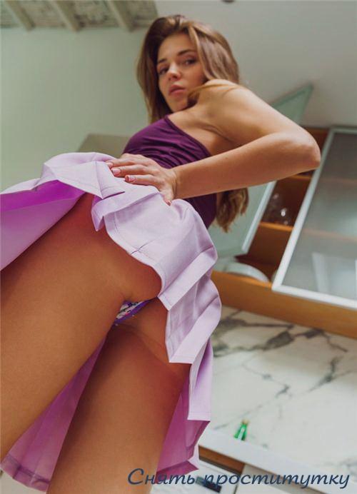 Иустиния58 - мастурбация члена грудью
